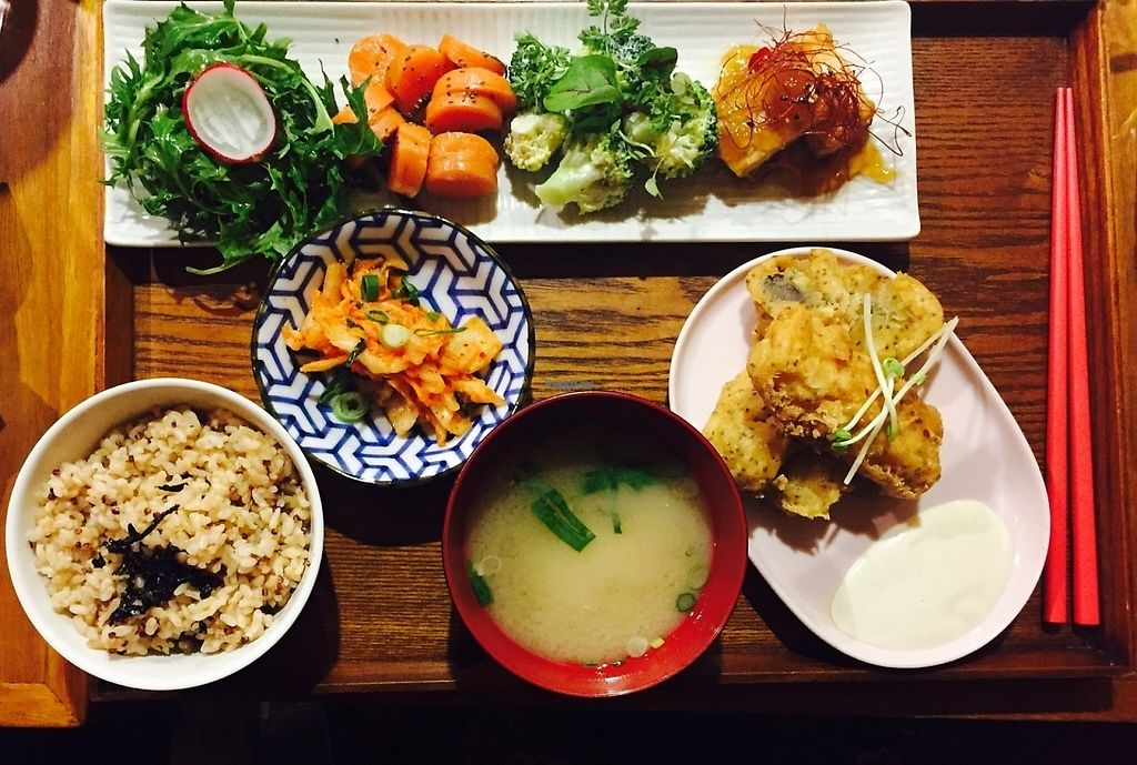 """Photo of Yong Green Food  by <a href=""""/members/profile/karlaess"""">karlaess</a> <br/>Yin & Yang charger <br/> November 27, 2016  - <a href='/contact/abuse/image/20267/195023'>Report</a>"""