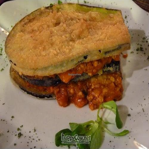 "Photo of La Olivera  by <a href=""/members/profile/Nihacc"">Nihacc</a> <br/>Eggplant puff with soy, 'pisto' and tomato <br/> June 27, 2011  - <a href='/contact/abuse/image/20268/9429'>Report</a>"
