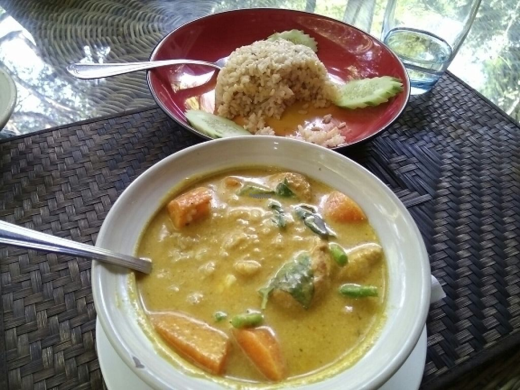 """Photo of Peace Cafe  by <a href=""""/members/profile/happytina"""">happytina</a> <br/>vegetarian amok <br/> February 10, 2017  - <a href='/contact/abuse/image/20271/224909'>Report</a>"""