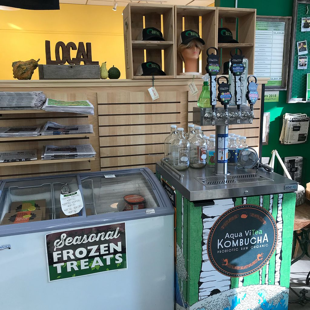"""Photo of Belfast Food Co-op  by <a href=""""/members/profile/Sarah%20P"""">Sarah P</a> <br/>Kombucha  <br/> March 2, 2018  - <a href='/contact/abuse/image/2027/365831'>Report</a>"""