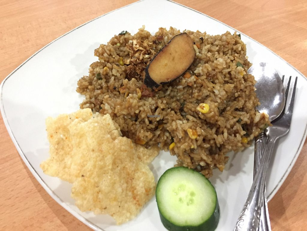 "Photo of Kedai Mie  by <a href=""/members/profile/SusanRoberts"">SusanRoberts</a> <br/>rice with vegan tuna <br/> December 1, 2016  - <a href='/contact/abuse/image/20307/196196'>Report</a>"