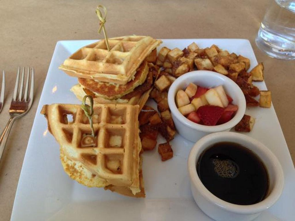 "Photo of CLOSED: Karyn's on Green  by <a href=""/members/profile/happycowgirl"">happycowgirl</a> <br/>Breakfast Sliders (vegan) <br/> September 7, 2014  - <a href='/contact/abuse/image/20321/79320'>Report</a>"