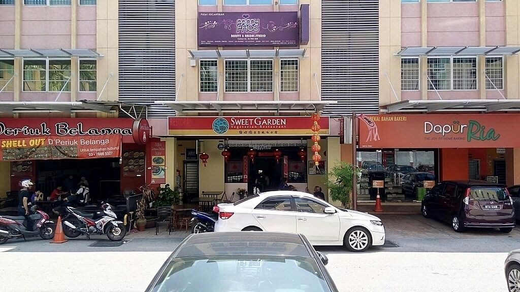 "Photo of Sweet Garden Vegetarian Restaurant  by <a href=""/members/profile/tantanhappy"">tantanhappy</a> <br/>Front <br/> February 9, 2017  - <a href='/contact/abuse/image/20326/224502'>Report</a>"