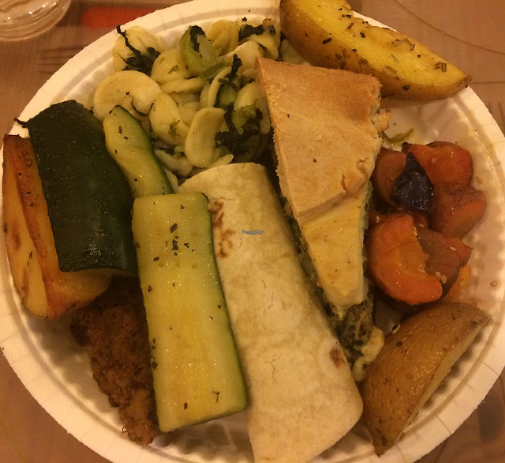 """Photo of Mens Sana - Barbabietole Rosmarino  by <a href=""""/members/profile/FatTonyBMX"""">FatTonyBMX</a> <br/>Mixed plate for dinner. DELICIOUS but EXPENSIVE. (€16) <br/> February 22, 2017  - <a href='/contact/abuse/image/20418/229454'>Report</a>"""