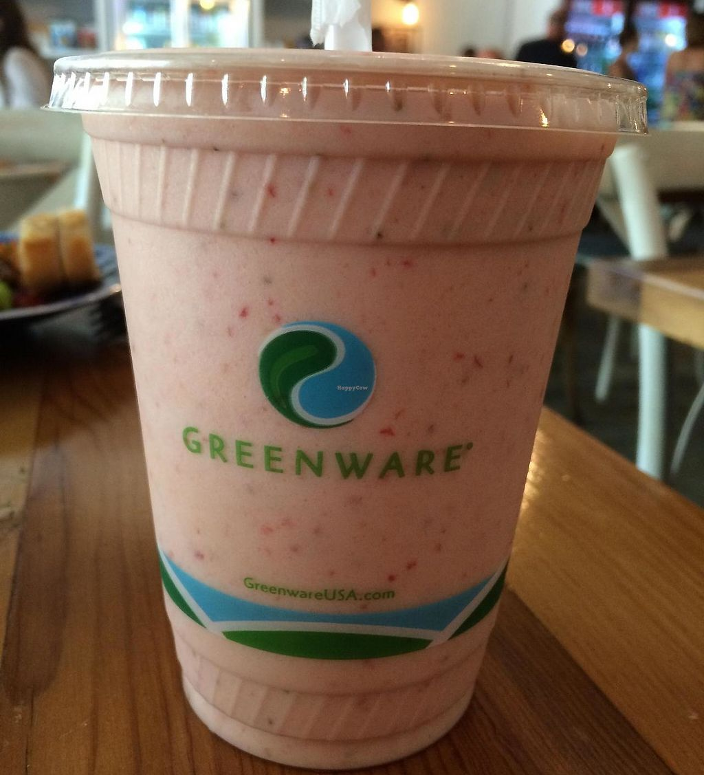 """Photo of Field of Greens  by <a href=""""/members/profile/kmilitello"""">kmilitello</a> <br/>What a peach smoothie without honey <br/> April 16, 2015  - <a href='/contact/abuse/image/20456/197636'>Report</a>"""