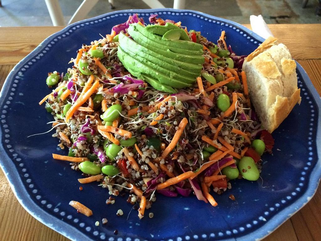 """Photo of Field of Greens  by <a href=""""/members/profile/kmilitello"""">kmilitello</a> <br/>Asian quinoa salad- not on the menu but you can ask for it.  <br/> April 16, 2015  - <a href='/contact/abuse/image/20456/99267'>Report</a>"""
