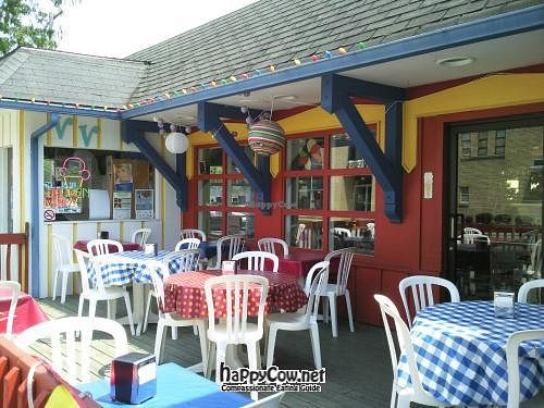 """Photo of Valpo Velvet  by <a href=""""/members/profile/happycowgirl"""">happycowgirl</a> <br/>outdoor tables <br/> July 8, 2012  - <a href='/contact/abuse/image/20458/34259'>Report</a>"""