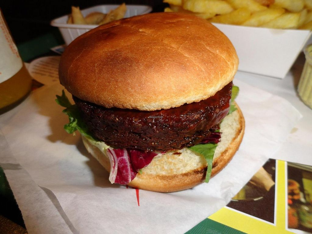 "Photo of Frituur Royal  by <a href=""/members/profile/JonJon"">JonJon</a> <br/>Vegan burger of the month <br/> August 23, 2014  - <a href='/contact/abuse/image/20463/77984'>Report</a>"