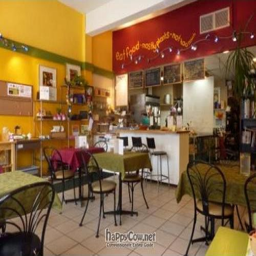 """Photo of CLOSED: Credible Edibles  by <a href=""""/members/profile/Veronica%20Tarlos"""">Veronica Tarlos</a> <br/>Credible Edibles Eco-cafe and Catering. Stylish, tasty and very veg friendly <br/> February 8, 2011  - <a href='/contact/abuse/image/20487/7344'>Report</a>"""