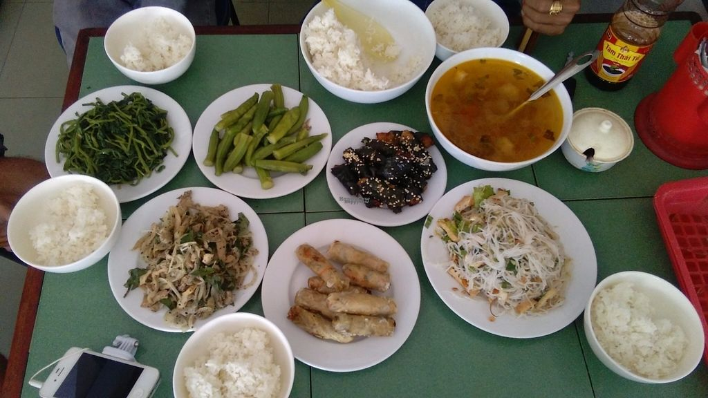 "Photo of Huong Thien  by <a href=""/members/profile/KPike"">KPike</a> <br/>A very cheap feast of vegan food <br/> October 7, 2016  - <a href='/contact/abuse/image/20497/180244'>Report</a>"