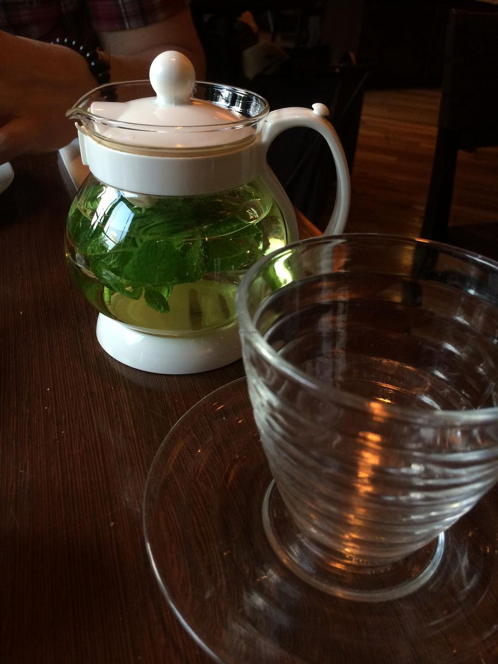 """Photo of Chaya Macrobiotics - Isetan Shinjuku  by <a href=""""/members/profile/Meggie%20and%20Ben"""">Meggie and Ben</a> <br/>Mint tea <br/> December 31, 2014  - <a href='/contact/abuse/image/20523/89103'>Report</a>"""