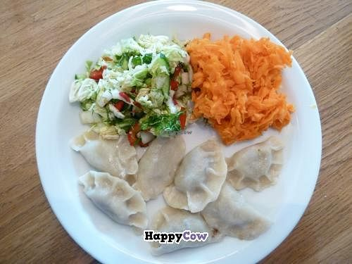"""Photo of Glonojad  by <a href=""""/members/profile/vegan%20mikal"""">vegan mikal</a> <br/>Lentil Pierogies - maybe yours will be tastier! <br/> August 11, 2013  - <a href='/contact/abuse/image/20526/53086'>Report</a>"""