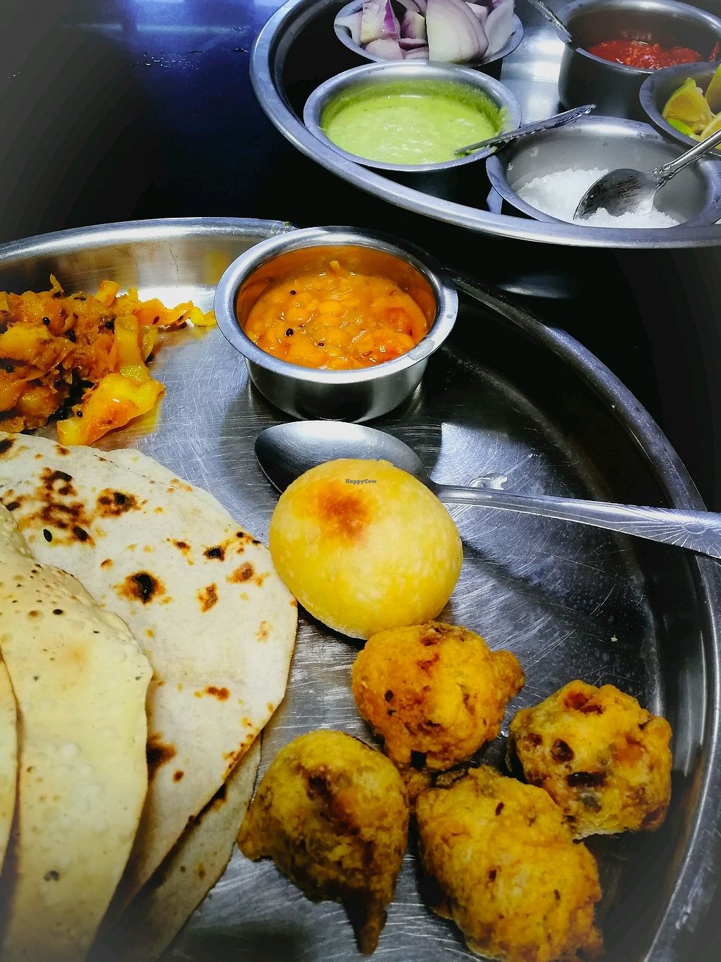 """Photo of Milan Restaurant  by <a href=""""/members/profile/Gudrun"""">Gudrun</a> <br/>A delicious vegan thali.  <br/> October 16, 2017  - <a href='/contact/abuse/image/20559/315896'>Report</a>"""