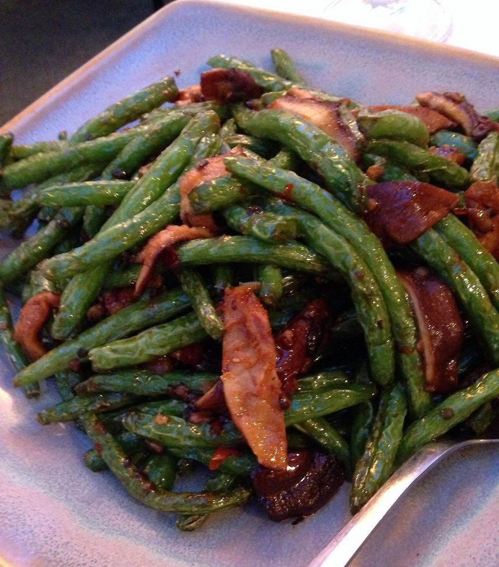 """Photo of The Vegetable Garden  by <a href=""""/members/profile/cookiem"""">cookiem</a> <br/>Spicy green beans <br/> June 22, 2014  - <a href='/contact/abuse/image/2058/194828'>Report</a>"""