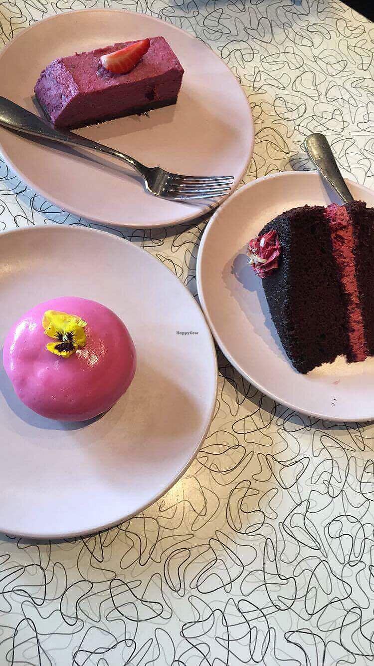"Photo of Southern Cross Garden Bar Restaurant  by <a href=""/members/profile/danielaj"">danielaj</a> <br/>all vegan cakes! so yum <br/> August 1, 2017  - <a href='/contact/abuse/image/20619/287646'>Report</a>"
