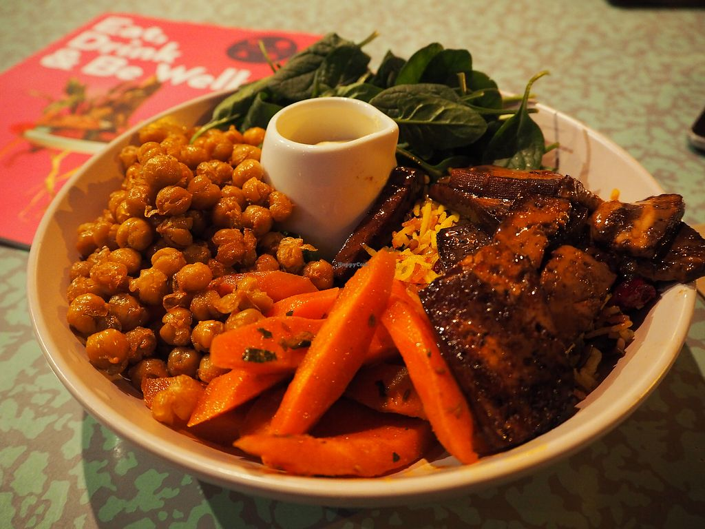 """Photo of Southern Cross Garden Bar Restaurant  by <a href=""""/members/profile/citizenInsane"""">citizenInsane</a> <br/>Winter buddha bowl (v) <br/> August 20, 2017  - <a href='/contact/abuse/image/20619/294663'>Report</a>"""