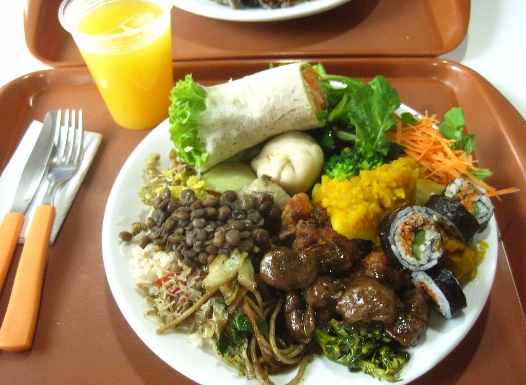 """Photo of Tsan The Restaurante Natural  by <a href=""""/members/profile/Brasilveggie"""">Brasilveggie</a> <br/>A plate from Tsan Resaurant <br/> August 9, 2015  - <a href='/contact/abuse/image/20649/310835'>Report</a>"""