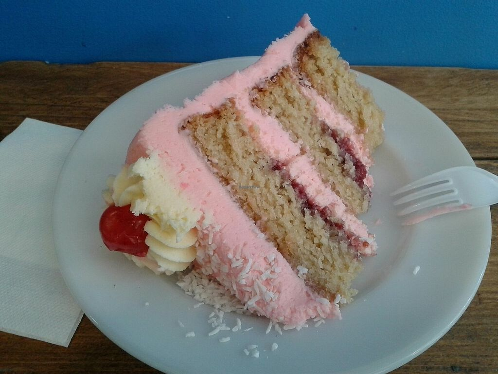 """Photo of Vx  by <a href=""""/members/profile/SuperVegan77"""">SuperVegan77</a> <br/>coconut cake, amazing <br/> July 7, 2017  - <a href='/contact/abuse/image/20663/277537'>Report</a>"""