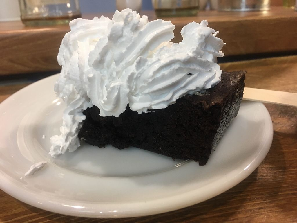 """Photo of Vx  by <a href=""""/members/profile/Nanna"""">Nanna</a> <br/>Brownie with whipped cream  <br/> February 10, 2018  - <a href='/contact/abuse/image/20663/357394'>Report</a>"""