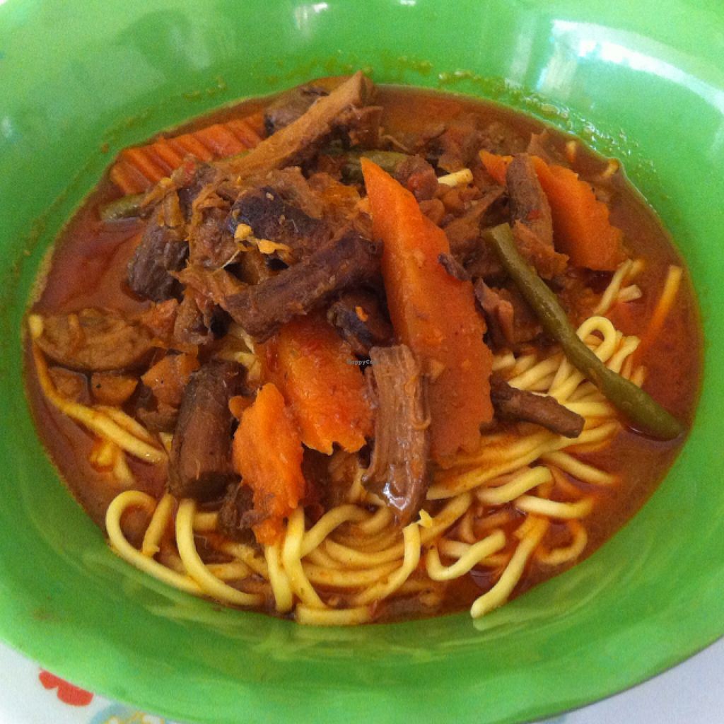 "Photo of Vegetarian Food  by <a href=""/members/profile/Arvid"">Arvid</a> <br/>Curry noodle (delicious!) <br/> February 6, 2016  - <a href='/contact/abuse/image/20685/135227'>Report</a>"