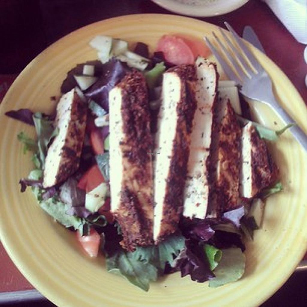 """Photo of Cafe 821  by <a href=""""/members/profile/meredith"""">meredith</a> <br/>Vegan Caesar (small).... add tofu.  <br/> January 9, 2014  - <a href='/contact/abuse/image/20708/62190'>Report</a>"""
