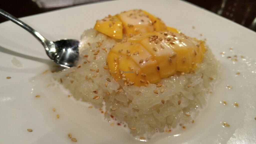 """Photo of Rain  by <a href=""""/members/profile/ajvaldez"""">ajvaldez</a> <br/>Sticky Rice with Ripened Mango - vegan <br/> January 3, 2016  - <a href='/contact/abuse/image/20731/130926'>Report</a>"""