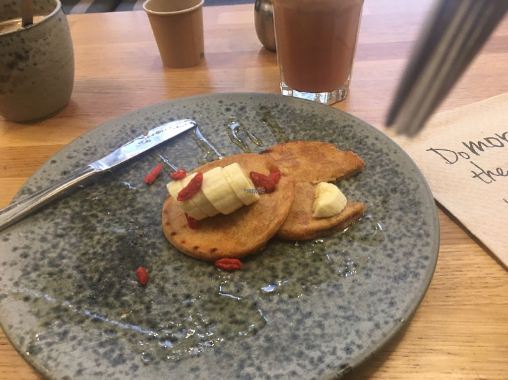 """Photo of 42 Degrees Raw - Pilestaede  by <a href=""""/members/profile/Charley86"""">Charley86</a> <br/>half eaten pancakes ... there were 3! <br/> January 26, 2017  - <a href='/contact/abuse/image/20746/217312'>Report</a>"""