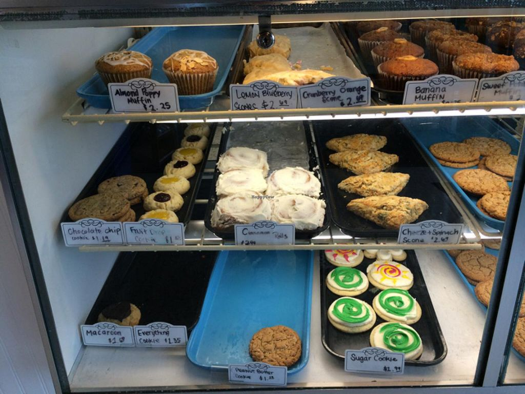 """Photo of City Cakes and Cafe  by <a href=""""/members/profile/Vegan%20Vagabond"""">Vegan Vagabond</a> <br/>Many option <br/> June 6, 2015  - <a href='/contact/abuse/image/20781/104975'>Report</a>"""