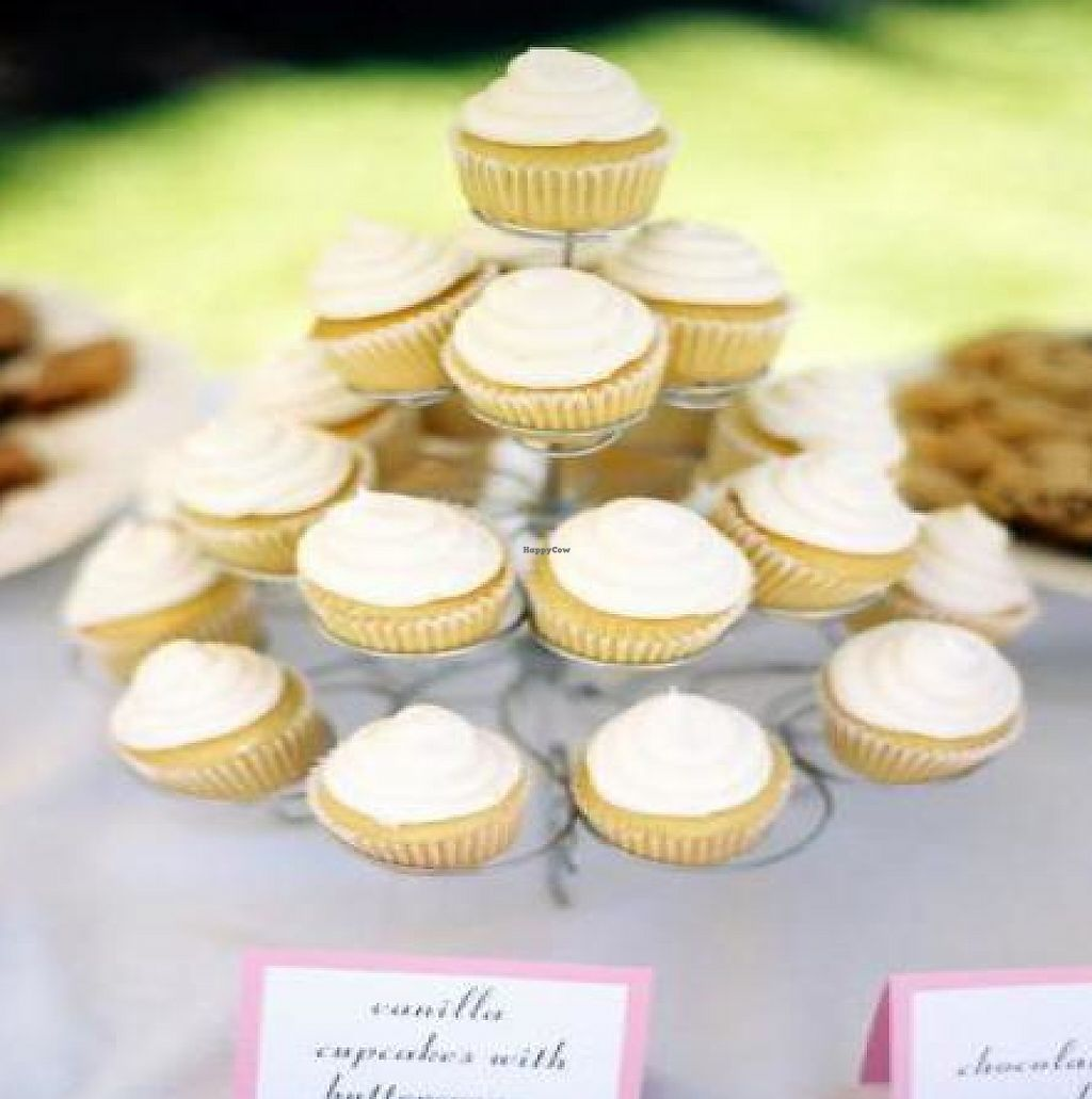 """Photo of City Cakes and Cafe  by <a href=""""/members/profile/Meggie%20and%20Ben"""">Meggie and Ben</a> <br/>Vanilla cupcakes with buttercream frosting for my wedding <br/> January 19, 2012  - <a href='/contact/abuse/image/20781/230643'>Report</a>"""