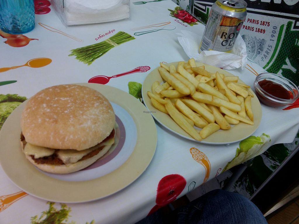 """Photo of Sai Darbar  by <a href=""""/members/profile/Ryecatcher"""">Ryecatcher</a> <br/>Mushroom burger with French fries <br/> February 15, 2015  - <a href='/contact/abuse/image/20792/93118'>Report</a>"""