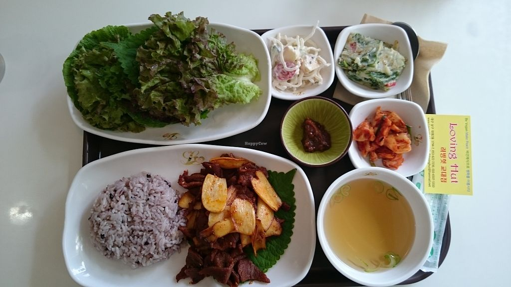 "Photo of Loving Hut - Daegu  by <a href=""/members/profile/peas-full"">peas-full</a> <br/> September 6, 2015  - <a href='/contact/abuse/image/20872/116574'>Report</a>"