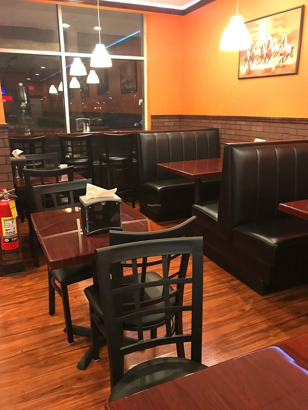 """Photo of The Great Indian Cafe and Fast Food  by <a href=""""/members/profile/TomG"""">TomG</a> <br/>Interior seating <br/> January 11, 2018  - <a href='/contact/abuse/image/20889/345555'>Report</a>"""