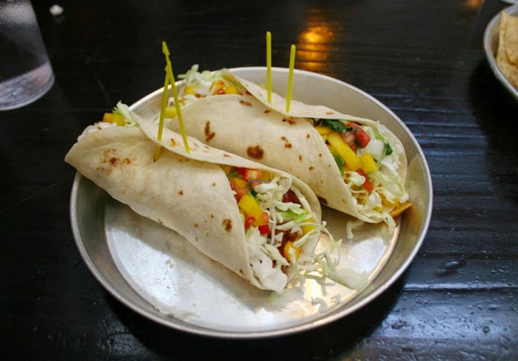 """Photo of Taco Mamacita  by <a href=""""/members/profile/Raesock"""">Raesock</a> <br/>Jerk Tacos <br/> June 7, 2014  - <a href='/contact/abuse/image/20894/71556'>Report</a>"""
