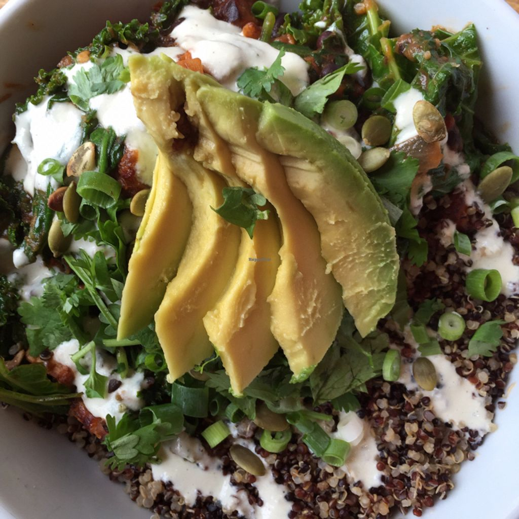 """Photo of Prasad - Pearl District  by <a href=""""/members/profile/AmeliaC"""">AmeliaC</a> <br/>Smoky Tempeh Scramble <br/> July 30, 2015  - <a href='/contact/abuse/image/20927/111638'>Report</a>"""