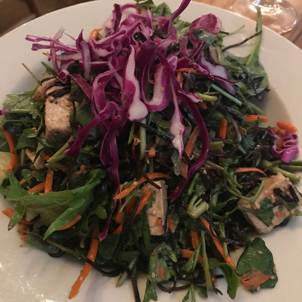 """Photo of Paul and Elizabeth's  by <a href=""""/members/profile/Sarah%20P"""">Sarah P</a> <br/>sea vegetable salad <br/> August 1, 2017  - <a href='/contact/abuse/image/2101/287385'>Report</a>"""