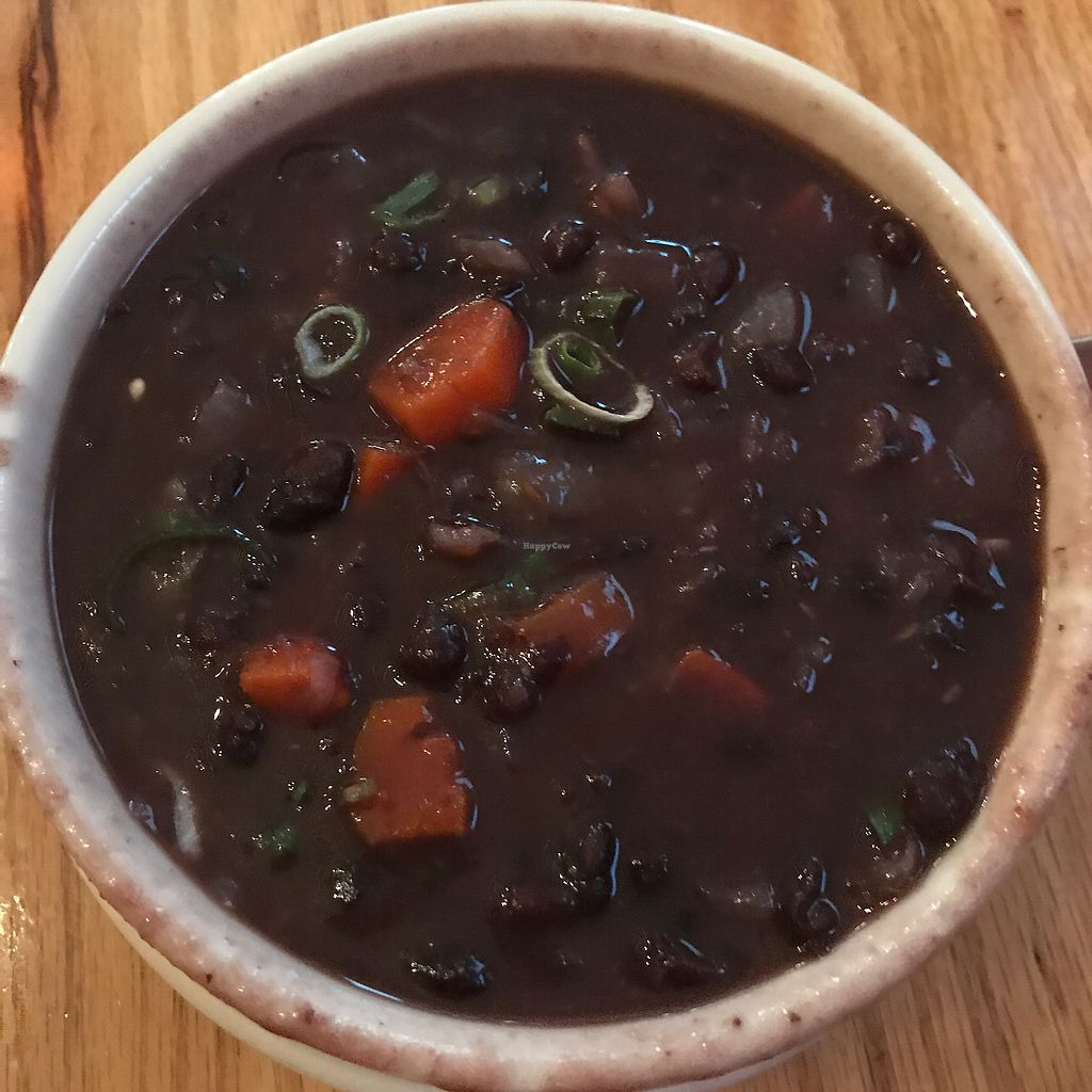 """Photo of Paul and Elizabeth's  by <a href=""""/members/profile/Sarah%20P"""">Sarah P</a> <br/>black bean soup  <br/> August 1, 2017  - <a href='/contact/abuse/image/2101/287386'>Report</a>"""