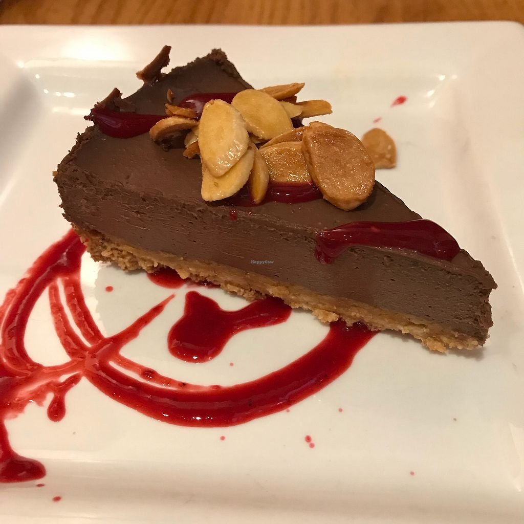 """Photo of Paul and Elizabeth's  by <a href=""""/members/profile/Sarah%20P"""">Sarah P</a> <br/>Vegan chocolate mousse pie <br/> April 29, 2018  - <a href='/contact/abuse/image/2101/392518'>Report</a>"""