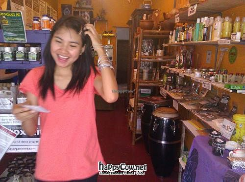 """Photo of Thai Organic Life  by <a href=""""/members/profile/eric"""">eric</a> <br/>Friendly daughter of owner, and inside of shop <br/> April 21, 2012  - <a href='/contact/abuse/image/21031/30842'>Report</a>"""