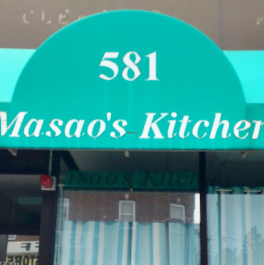 "Photo of Masao's Kitchen  by <a href=""/members/profile/VeganVegabond"">VeganVegabond</a> <br/>front <br/> July 28, 2016  - <a href='/contact/abuse/image/2104/162977'>Report</a>"
