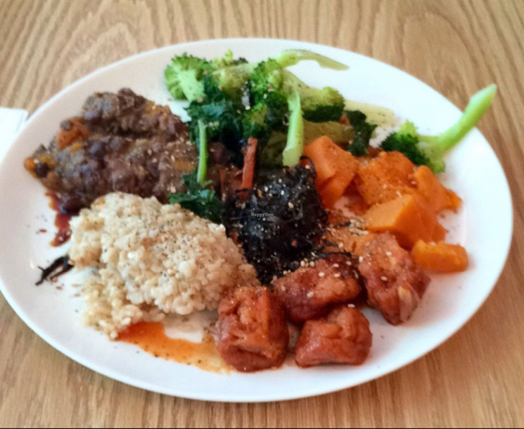 "Photo of Masao's Kitchen  by <a href=""/members/profile/VeganVegabond"">VeganVegabond</a> <br/>my first macrobiotic lunch <br/> July 28, 2016  - <a href='/contact/abuse/image/2104/162978'>Report</a>"