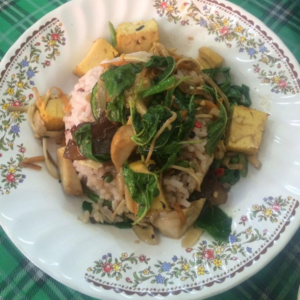 """Photo of Samrup Jay  by <a href=""""/members/profile/SaraBnkl"""">SaraBnkl</a> <br/>mix veg tofu rice  <br/> November 5, 2015  - <a href='/contact/abuse/image/21054/124038'>Report</a>"""