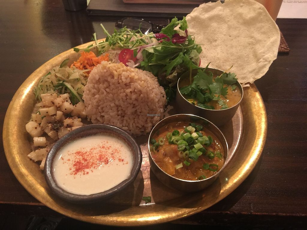 """Photo of Meunota  by <a href=""""/members/profile/lotusforest"""">lotusforest</a> <br/>""""Vegan Meals"""" at menu option at Meu Nota <br/> July 24, 2017  - <a href='/contact/abuse/image/21068/284090'>Report</a>"""