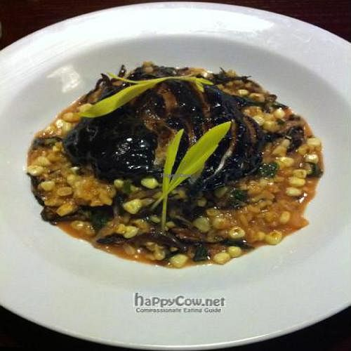 "Photo of Sprig and Vine  by <a href=""/members/profile/AshleyxMichelle"">AshleyxMichelle</a> <br/>Heirloom Onion, Smoked Siitake & Corn Risotto - Sprig and Vine <br/> September 11, 2011  - <a href='/contact/abuse/image/21089/10560'>Report</a>"