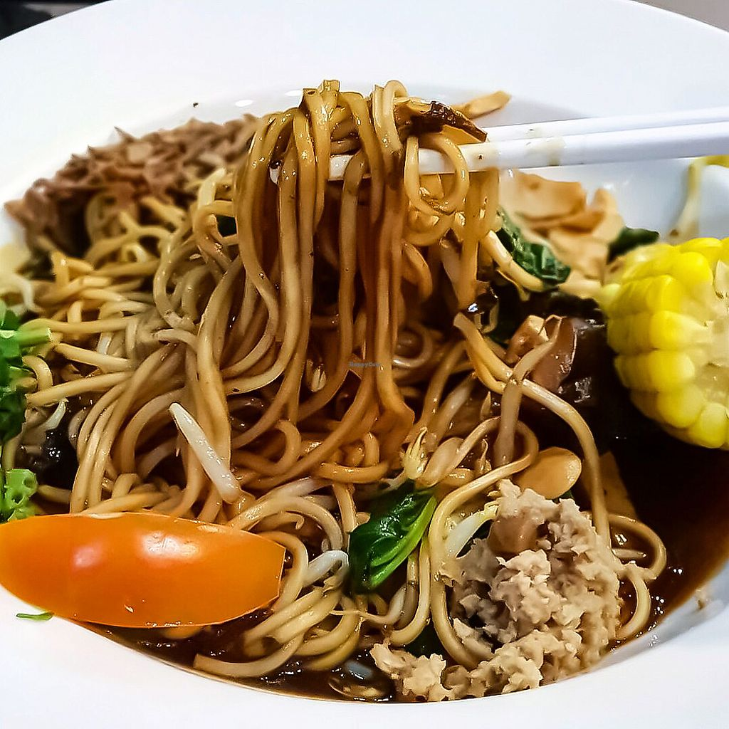 "Photo of North South East West Fusion Vegetarian  by <a href=""/members/profile/Sweetveganneko"">Sweetveganneko</a> <br/>Jia Xiang noodles <br/> March 20, 2018  - <a href='/contact/abuse/image/21106/373143'>Report</a>"