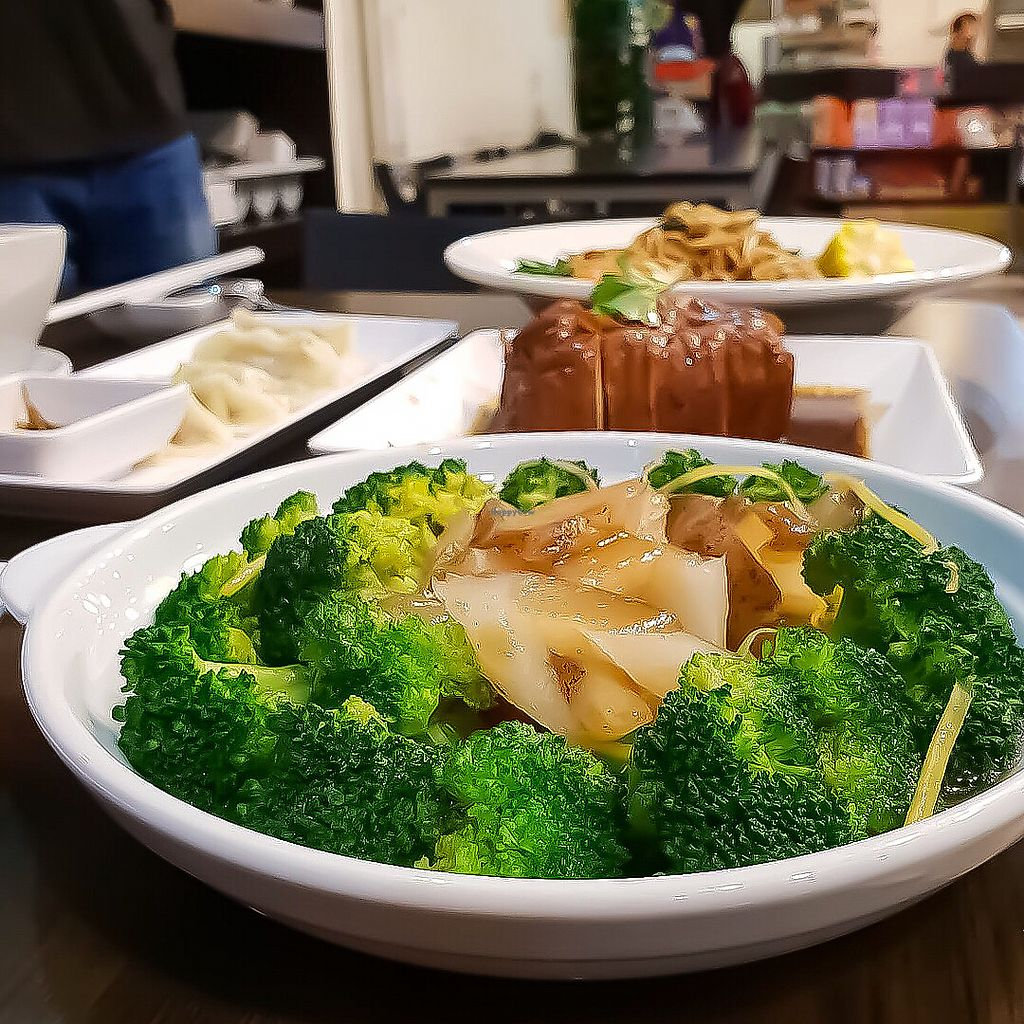 "Photo of North South East West Fusion Vegetarian  by <a href=""/members/profile/Sweetveganneko"">Sweetveganneko</a> <br/>Dumplings in the background <br/> March 20, 2018  - <a href='/contact/abuse/image/21106/373146'>Report</a>"