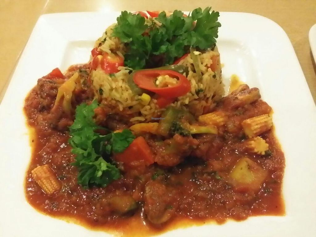 """Photo of Cafe Salivation  by <a href=""""/members/profile/JimmySeah"""">JimmySeah</a> <br/>Mexican rice with vegetable Safrito <br/> June 14, 2015  - <a href='/contact/abuse/image/21127/105892'>Report</a>"""