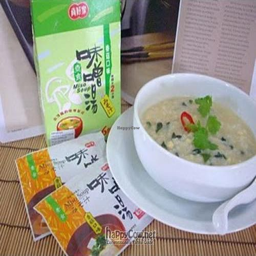 "Photo of Friendly Vegetarian Food Supplier  by <a href=""/members/profile/Peace%20..."">Peace ...</a> <br/>Instant Miso Soup (use it to make soup or add to plain porridge) good for travelling <br/> April 2, 2010  - <a href='/contact/abuse/image/21129/4189'>Report</a>"