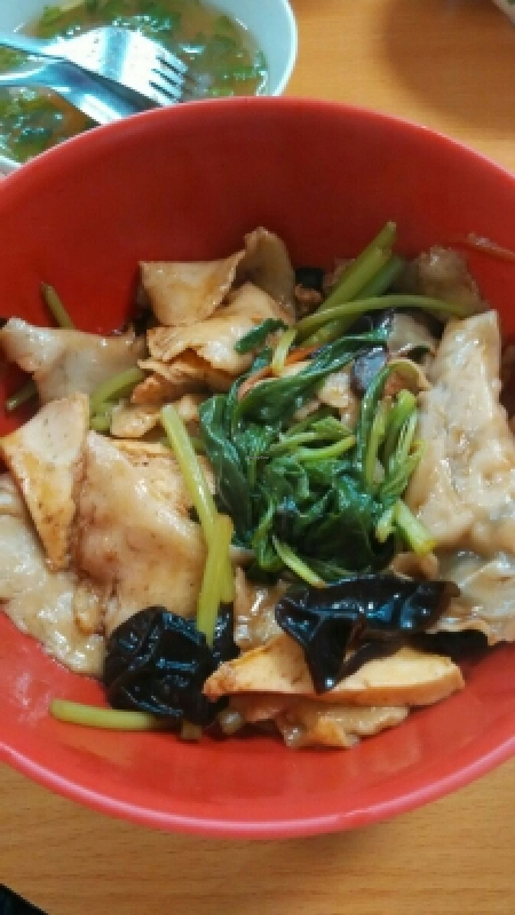 """Photo of Tian Yuan Vegetarian Food  by <a href=""""/members/profile/JimmySeah"""">JimmySeah</a> <br/>Dried mee hoon kway (made from flour) <br/> January 18, 2016  - <a href='/contact/abuse/image/21134/132861'>Report</a>"""