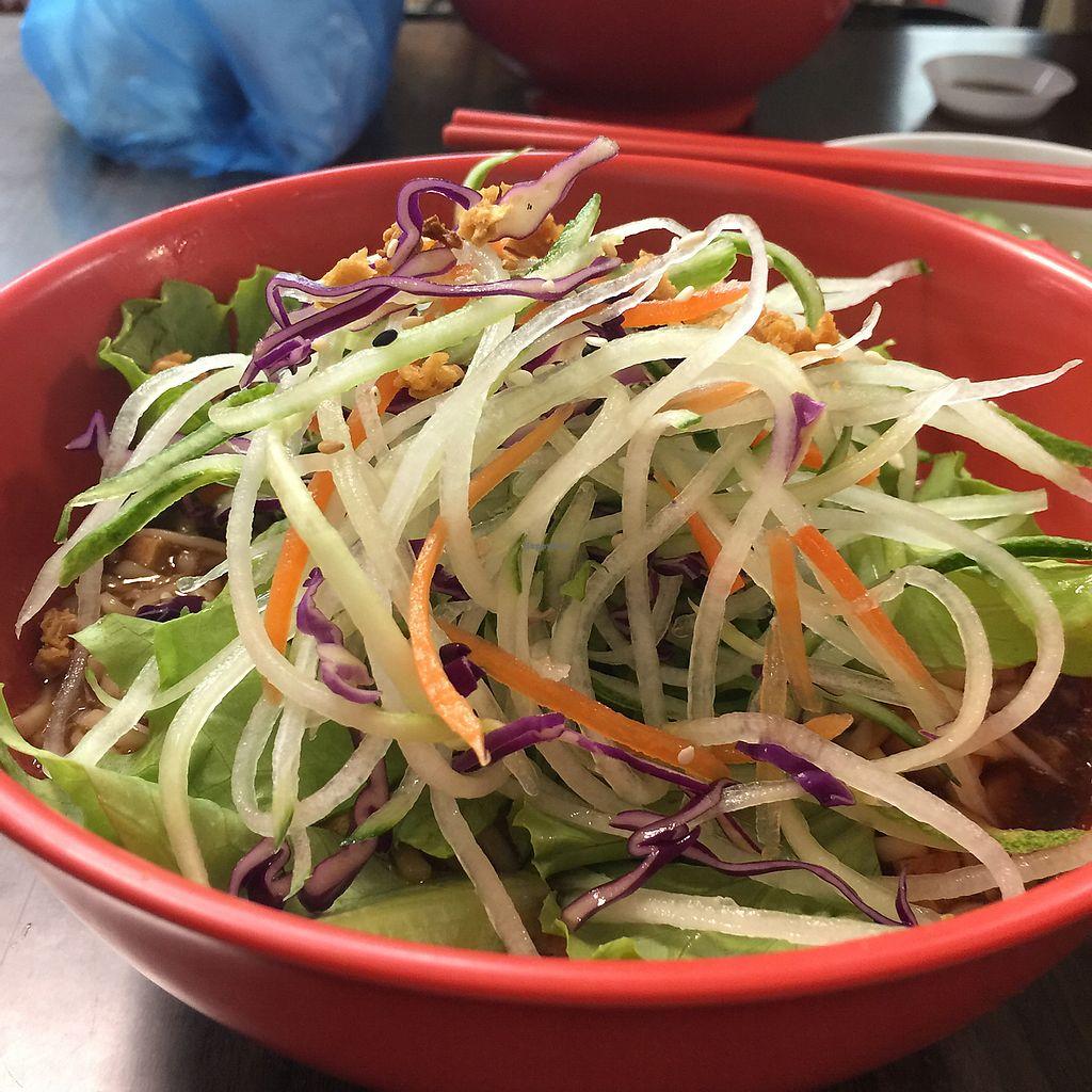 "Photo of Tian Yuan Vegetarian Food  by <a href=""/members/profile/YiWei"">YiWei</a> <br/>zha Jiang Mian - with fresh crunchy vegetables!  <br/> June 12, 2017  - <a href='/contact/abuse/image/21134/268357'>Report</a>"