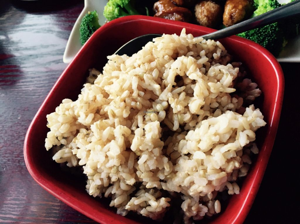 "Photo of Garden Fresh  by <a href=""/members/profile/Theveganwife"">Theveganwife</a> <br/>A side order of brown rice is enough for two <br/> October 3, 2015  - <a href='/contact/abuse/image/21138/120018'>Report</a>"